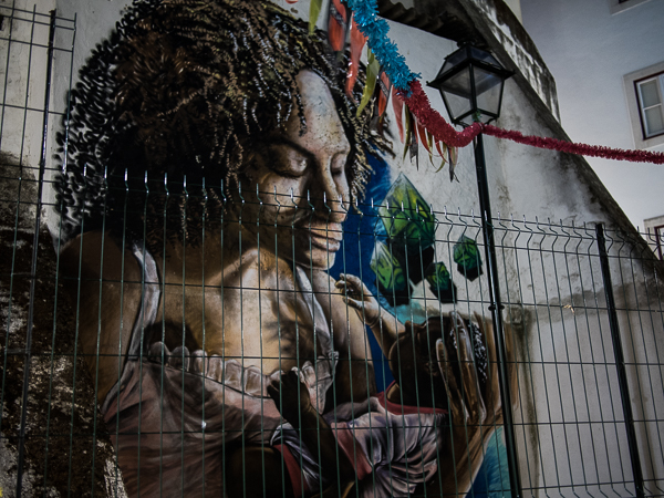 Street Art in Lissabon