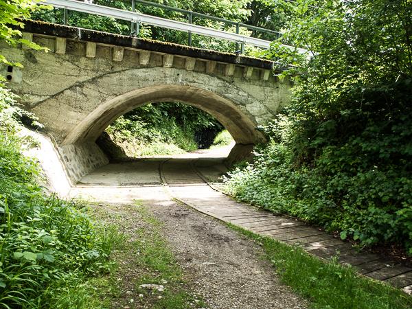 Brücke auf dem Weg zum Wendelstein