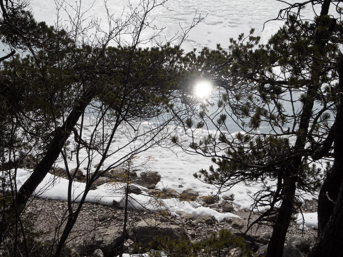 Nachmittagssonne am Eibsee