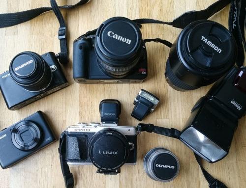 Meine Kamera(s) und Fotoausrüstung